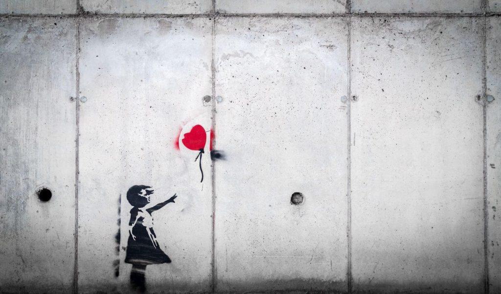 Banksy Heart Balloon